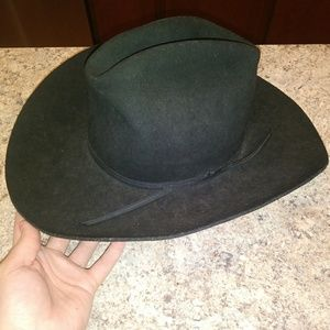 silver spur Accessories - Mens silver spur cowboy hat 7b9009ae8418